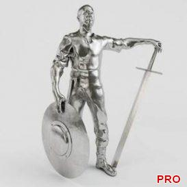 Figurine Viking 3d model Download 3dbrute