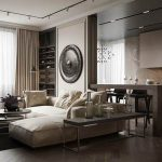 85m2 modern apartment – the perfect combination of texture and comfort
