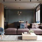 Cartelledesign 66m2 young couple small apartment
