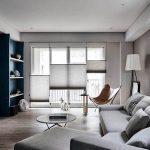 Create a exclusive fashion blue home with classical modernity
