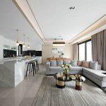 Fang Lei's new work, Zhongnan Fufu Villa – Middle Stack Modern Light Luxury Van