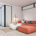 Fresh color matching modern and stylish open space design