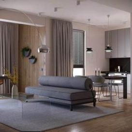 Katarina Rulinskaya Russia 63m2 Private Apartment