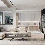Modern minimalist and elegant space design