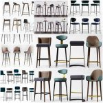 Sell Barstools 3dmodel set 2019