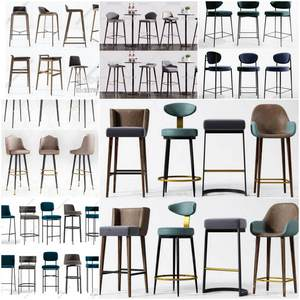 Sell Barstools set 3d model 2019