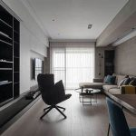 Taiwan mix and match wind comfortable and simple home