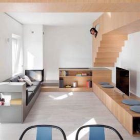 Woods Gosplan Italian Fresh Style Apartment