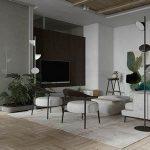 temperament grey + brown texture apartment MARRA