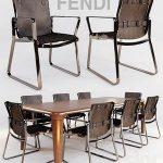 blixen chair fendi chair and table serengeti by fendi casa