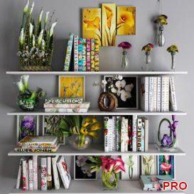 Decorative set 17 3d model Download  Buy 3dbrute