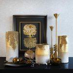 Decorative set: Noble gold