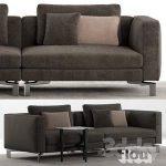 Flou Tay Modular Sofa Composition A
