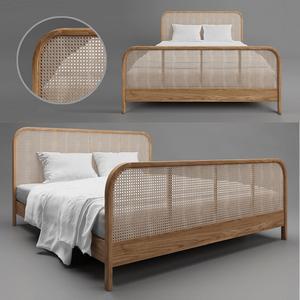 Cane bed 2 3d model Download  Buy 3dbrute