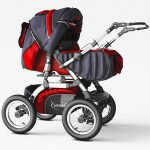 Stroller for children ANMAR 3d model Download 3dbrute