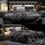 Bed Poltrona Frau Bluemoon