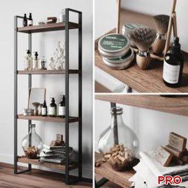 Cosmetic set 1 3d model Download  Buy 3dbrute