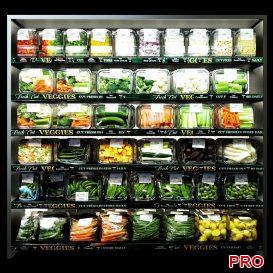 Shelves with vegetables 3d model 3dsmax