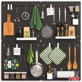 SKADIS kitchen set 3d model Download  Buy 3dbrute