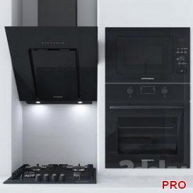 Kitchen appliances Kuppersberg 3d model Download 3dbrute
