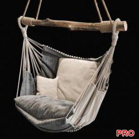 Suspended chair 2 3d model Download  Buy 3dbrute
