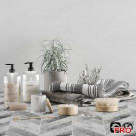 Bathroom set 04 3d model Download  Buy 3dbrute