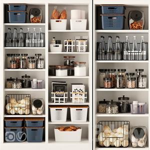 Decorative Kitchen Set 3 3d model Download  Buy 3dbrute