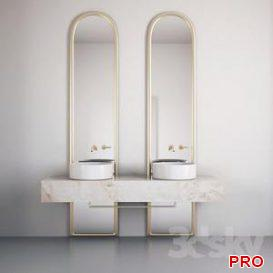 Bathroom Furniture I Bathroom Furniture 26 3d model Download  Buy 3dbrute