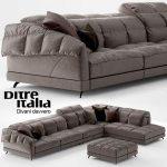 Sofa Dunn Soft Ditre Italia Design