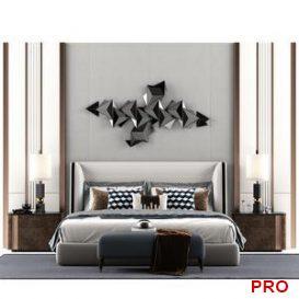 3D Interior bedroom Scenes 2 3d model Download  Buy 3dbrute