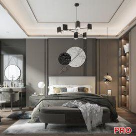 Bedroom vray 1 3d model Download  Buy 3dbrute