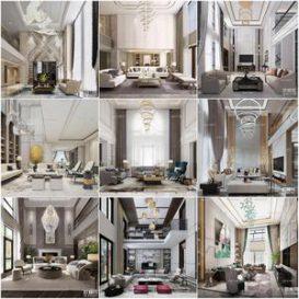 Sell Void living room 2019 vol1 3d model