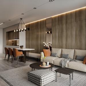 Living room scene 10 3dbrute