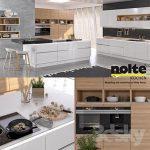 Kitchen NOLTE Nova Lack vray GGX corona PBR