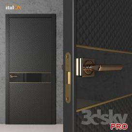 Doors Italon line Vogue 3d model Download  Buy 3dbrute