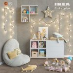 IKEA modular furniture accessories decor and toys set 6