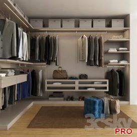 Wardrobe M 9 3d model Download  Buy 3dbrute