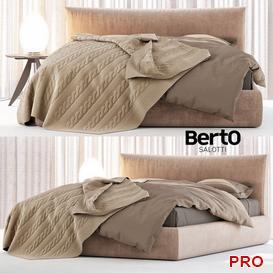 Berto Soho bed Bed b10 3d model Download  Buy 3dbrute