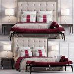 Bed FENDI CASA SAVILE