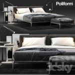 Poliform Park Bed