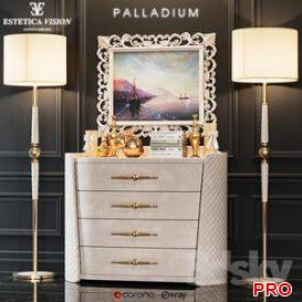 Chest of drawers Palladium 3d model Download  Buy 3dbrute