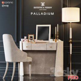 TOILET TABLE PALLADIUM 3d model Download  Buy 3dbrute