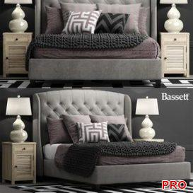 Bed Arched Queen 3d model Download  Buy 3dbrute