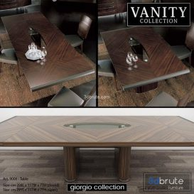 GIORGIO COLLECTION Vanity  Art  9000 Table 3d model Download  Buy 3dbrute