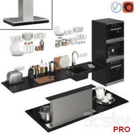 Kitchen Decor Island 3d model Download  Buy 3dbrute