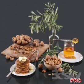 Decorative set 10 3d model Download  Buy 3dbrute