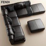 Sofa FENDI CASA Agadir