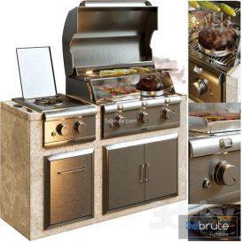 Saber Grill 3d model
