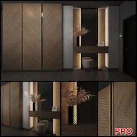 Composition in the hallway 54 3d model Download  Buy 3dbrute