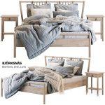 Bed BJORKSNAS Ikea  Ikea